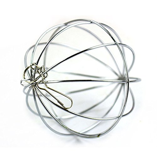 Bola de juguete de acero inoxidable colgante para hámster o...