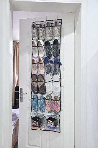 lesort über der Tür Aufhängen Schuh Taschen Organizer Storage Halter Sortierer für 22Paar Schuhe Smart Storage - Küche Tür Der Storage Der über