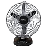 Havells Birdie 230mm Personal Fan (Black and Grey)