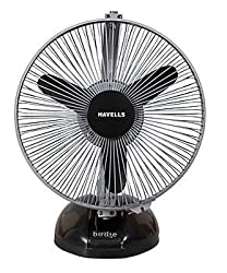 Havells Birdie 230mm Table Fan (Black and Gray)
