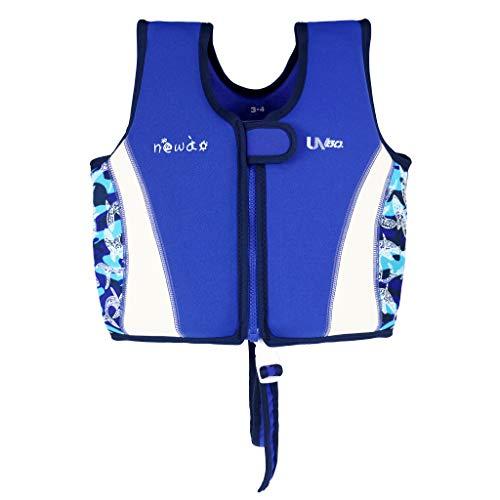 Gogokids Bambino Gilet da Nuoto in Neoprene, Giubbotto Galleggiante Costume da Bagno per Ragazzo Ragazza Impara a Nuotare 2-6 Anni