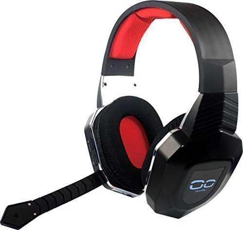 booEy® Wireless Gaming Kopfhörer Headset für PS4, PS3, Xbox360 & PC Webcam Ps2