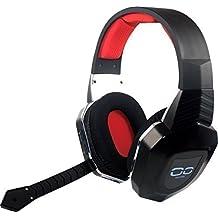 booEy Wireless Gaming Headset Kopfhörer Headphone für PS4/PS3/Xbox360/Xbox One/PC