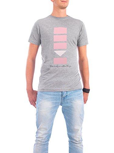 """Design T-Shirt Männer Continental Cotton """"One Mother"""" - stylisches Shirt Typografie von artboxONE Edition Grau"""