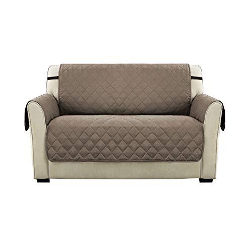 Pengxiang animali domestici–fodera per divano, antiscivolo e reversibile couch–pellicola protettiva, poliestere, beige, loveseat