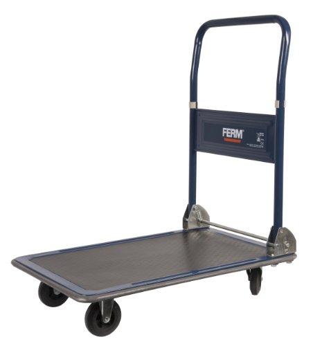 Ferm TTM1027 - Carrito transportador, peso máximo 150 kg