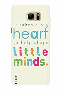 Noise Designer Printed Case / Cover for Samsung Galaxy Note7 / Quotes/Messages / Little Minds Design
