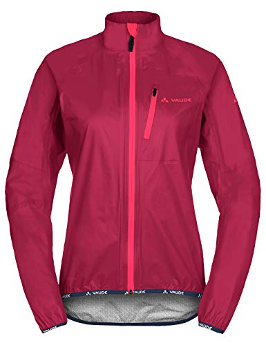 VAUDE Damen Drop III Jacke, Crimson red, 38