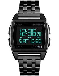 f671c5a67304 Amazon.es  Rectangular - Relojes de pulsera   Hombre  Relojes
