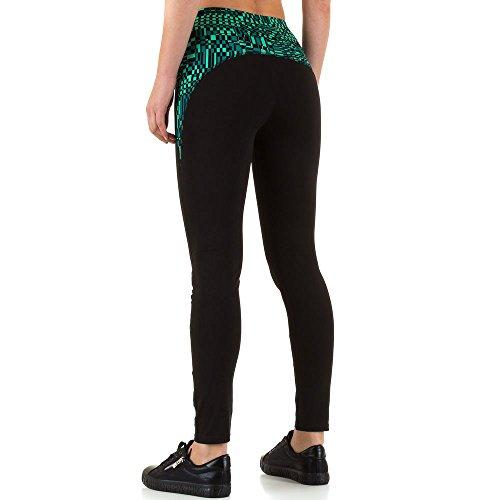 iTaL-dESiGn - Legging - Jegging - Femme Vert