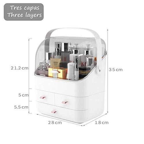 SHOUSBOXHI Organizador Maquillaje Caja cosméticos