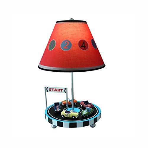 chleuchte- Mediterranen Stil Schreibtischlampe Kinder Schlafzimmer Nachttischlampe warm und schön Cartoon Lights Boy Geburtstagsgeschenk (Rabatt Wohnkultur Stoff)