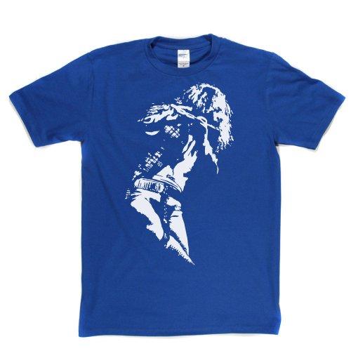 Ian Anderson - Tull Flute T-Shirt Königsblau
