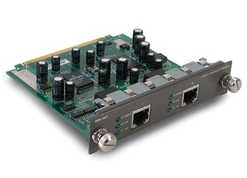Modulo 2 Porte Gigabit 1000 Ba Se T Rame Connettore Rj-45 Per Des-1218r, Des-1226r, Des-3226s, Des-3326s.