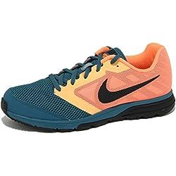 1363O sneaker uomo NIKE ZOOM FLY arancione/verde petrolio shoe men