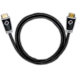 Oehlbach Easy Connect  High-Speed-HDMI®-Kabel mit Ethernet  schwarz  1.50 m
