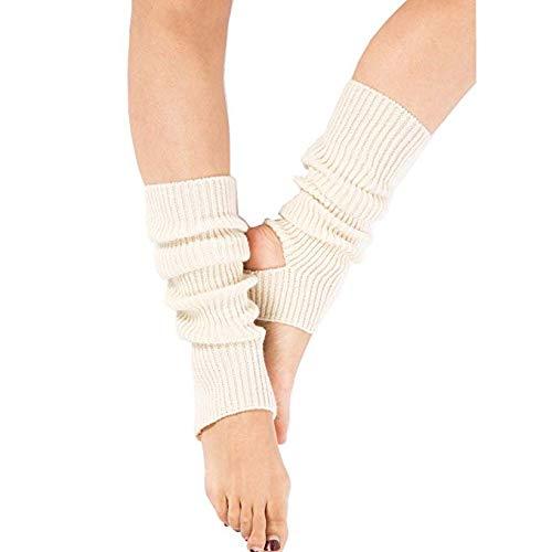 Zomiee Yoga-Socken für Frauen, Mädchen, Workout-Socken, ohne Zehenpartie, für Training, Tanzen, Stulpen