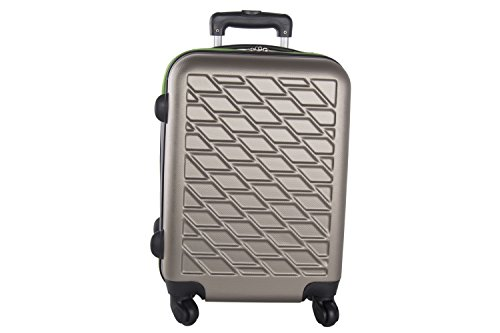 Maleta rígida PIERRE CARDIN bronce mini equipaje de mano ryanair VS85
