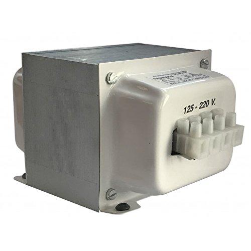 Transformador 125V - 220V reversible 3000W