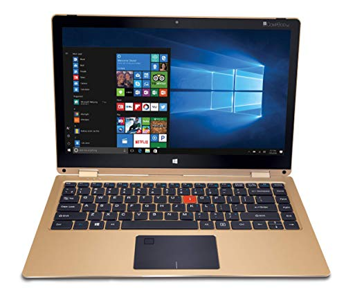 iBall Aer3 13.3-inch Laptop (Intel Pentium 4GB/64GB/Windows 10/1.58kg) Golden