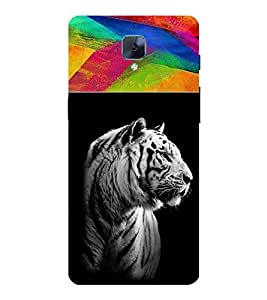 For OnePlus 3T dangerous tiger ( dangerous tiger, tiger, beautiful tiger ) Printed Designer Back Case Cover By CHAPLOOS