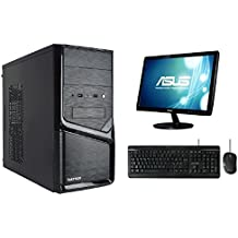 PC DESKTOP INTEL QUAD CORE CON MONITOR 19