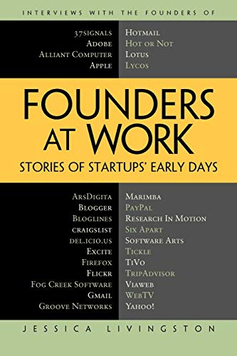 Founders at Work: Stories of Startups' Early Days (Recipes: a Problem-Solution Ap) - Computer B Science Ap
