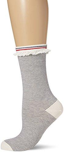 Tommy Hilfiger Damen Freizeitsocken TH Women Sock 1P, Weiß (White 300), 35/38 (Herstellergröße: 035)
