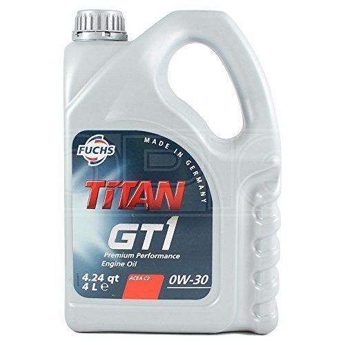 Fuchs 600999827 Motoröl Titan GT1 0W-30 4L