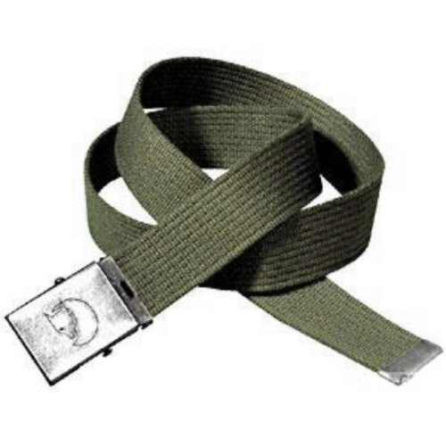 Fjällräven Gürtel Canvas Belt, Dark Olive, One Size