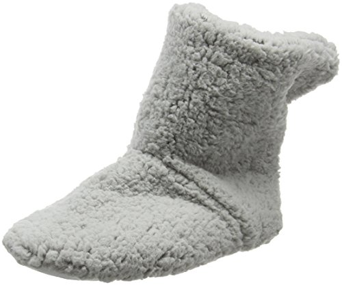 Eaze Grey Fleece, Chaussons femme Gris