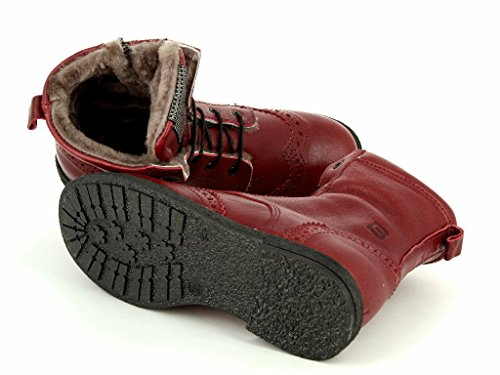 cole bounce restore 2036 rosso Kinder Warmfutter Boot in Mittel Rot