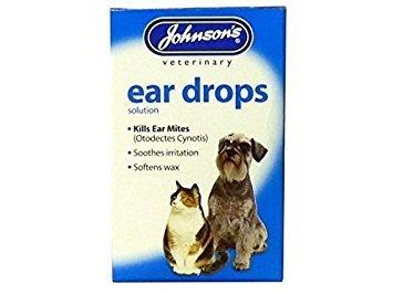 (2 Pack) Johnson's Vet - Ear Canker Drops 15ml from Johnson's Vet