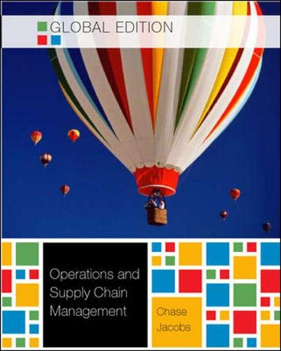 Operations and Supply Chain Management W/connect card - Global Edition