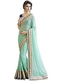 Latest Designer Sarees Party Wear Saree Cotton Silk Best Crepe Velvet & Net Georgette Sari Below Price With To...