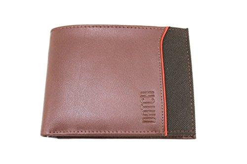 Portafogli Uomo Datch L.Emerson Wallet 15904 Marrone Moda Italiana