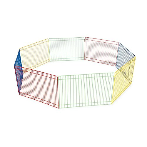 ardisle-8-panel-pet-fold-tragbare-meerschweinchen-kaninchen-hamster-garten-spielen-pen-zaun-kafig