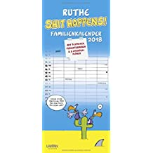 Ruthe - Shit happens! Familienkalender 2018