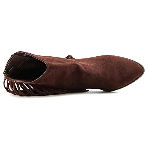 Madden Girl Shaare Spitz Faux Wildleder Mode-Stiefeletten Chestnut