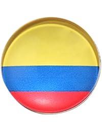 Baoblaze 1 Pieza de Broche Aplique de Alecion Bandera Nacional Multiusos para Deportista FIFA Regalo