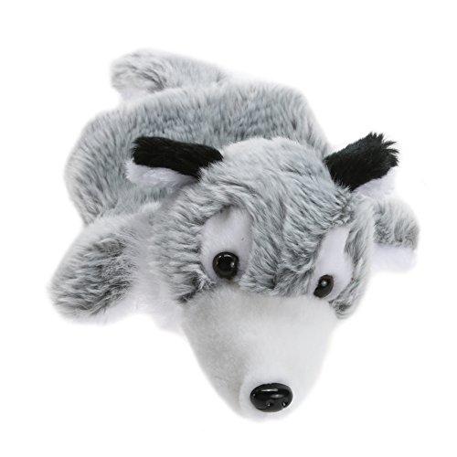 La Cabina Marionnette à Main-Mini Bébé-Mignon Poupon-Cadeau pour Bébé Enfant -Marionnettes Peluches à Main - loup