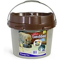 Omega Paw Bdlb Cubo Comedero Grande, 2 x 1150 ml, L