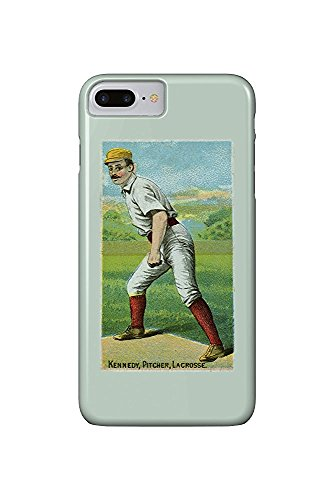 La Crosse Northwestern League - Kennedy - Baseball Card (iPhone 7 Plus Cell Phone Case, Slim Barely There) -
