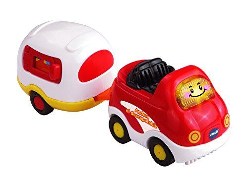 Tut Tut Bólidos - Andrea descapotable y caravana (VTech 3480-152422), surtido:colores aleatorios