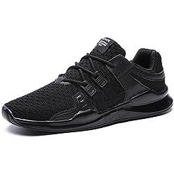 IIIIS-F Zapatillas De Running Deportes Aire Libre Para Correr Asfalto Y Pádel Para Hombre