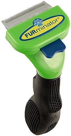 FURminator De-Shedding Tool for Small Dogs with Short Hair
