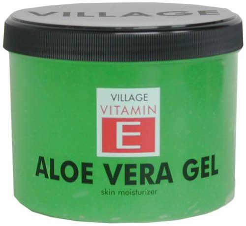 Village 9509-01 Aloe Vera Body Gel kühlend mit Vitamin E, 1er Pack (1 x 500 ml)