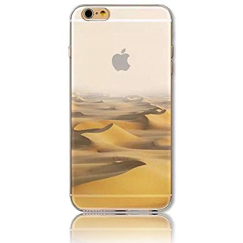 """Sunroyal® 3en1 TPU Coque Apple iPhone 6/6S 4.7"""" Etui Housse Transparente Creative 3D Case Cover ExtraSlim Ultra-light Premium Doux Silicone Gel Cas Couvrir Élégant Souple Shell Replacement Hull Téléph Pattern 35"""
