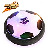 Air Power Fußball Spielzeug mit Musik- Indoor Fußball spiel for Kinder Sport Training /Betheaces Hover Ball with LED Lighting Perfect for Indoor/outdoor Ball Game ohne Beschädigung von Möbeln