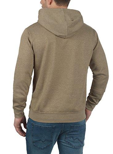 SOLID Olli Herren Kapuzenpullover Hoodie Sweatshirt aus hochwertiger Baumwollmischung Meliert Sand Melange (8409)